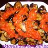 Domates Soslu Patlıcan Kızartması Tarifi
