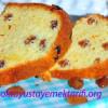 Kuru Üzümlü Kek Yapılışı