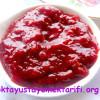 Kızılcık Marmelatı Tarifi