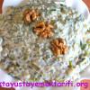 Yoğurtlu Ve Cevizli Kabak Salatası Tarifi