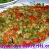 Közlenmiş Sebze Salatası Tarifi