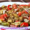Kuru Soğanlı Patlıcan Salatası Tarifi