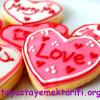 Sevgililer Günü İçin Kalpli Kurabiye Tarifi