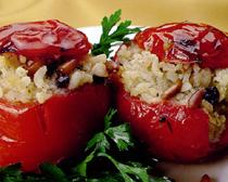 zeytinyagli domates dolmasi