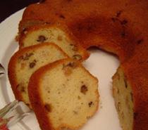 cevizli ve meyveli kek
