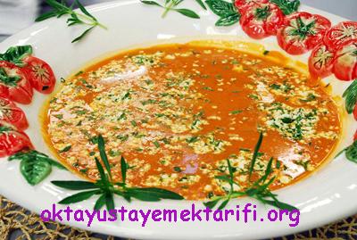 peynirli domates corbasi
