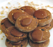 kakaolu findikli kurabiye