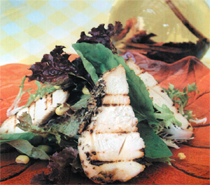 Kekikli Tavuk Salatası Tarifi