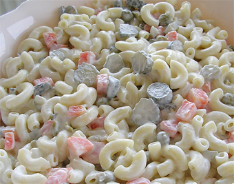 Makarna Salatası Yapılışı