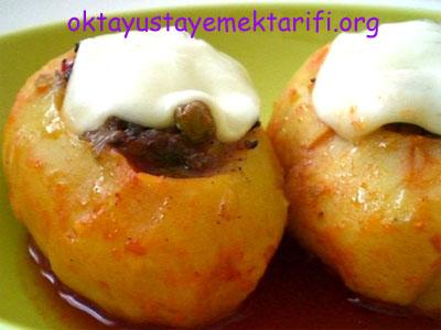 Kıymalı Patates Dolması Tarifi