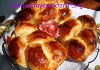 Paskalya Çöreği Yapılışı