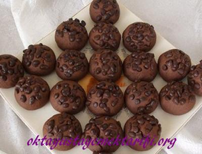 damla cikolatali kakaolu kurabiye