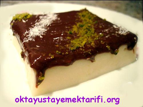 cikolata soslu muhallebi