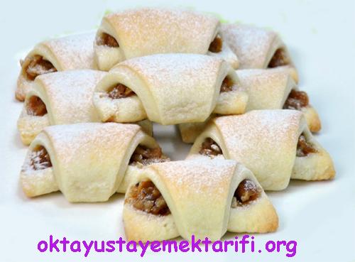 elmali mini kurabiye