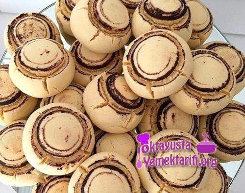 mantar sekilli kurabiye