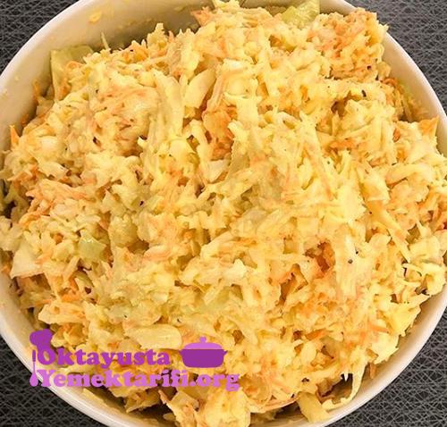 lahana coleslaw salatasi