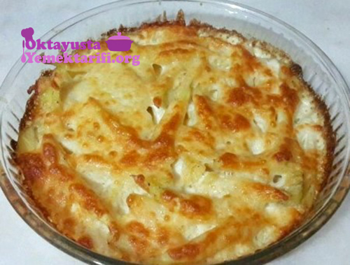 kremali kasarli patates