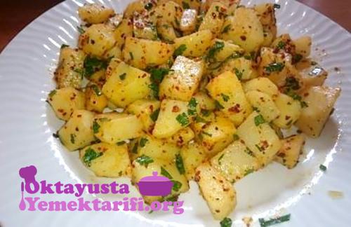 tereyagli baharatli patates