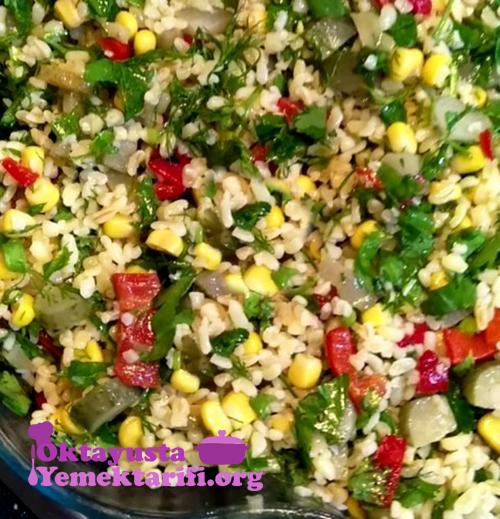 bulgur salatasi