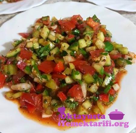 kebabci salatasi