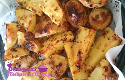 firinda soslu patates