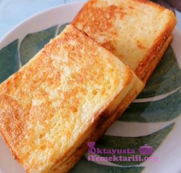 tavada yumurtali tost