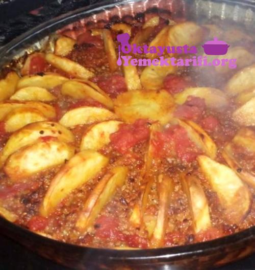 kiymali patates dizmesi